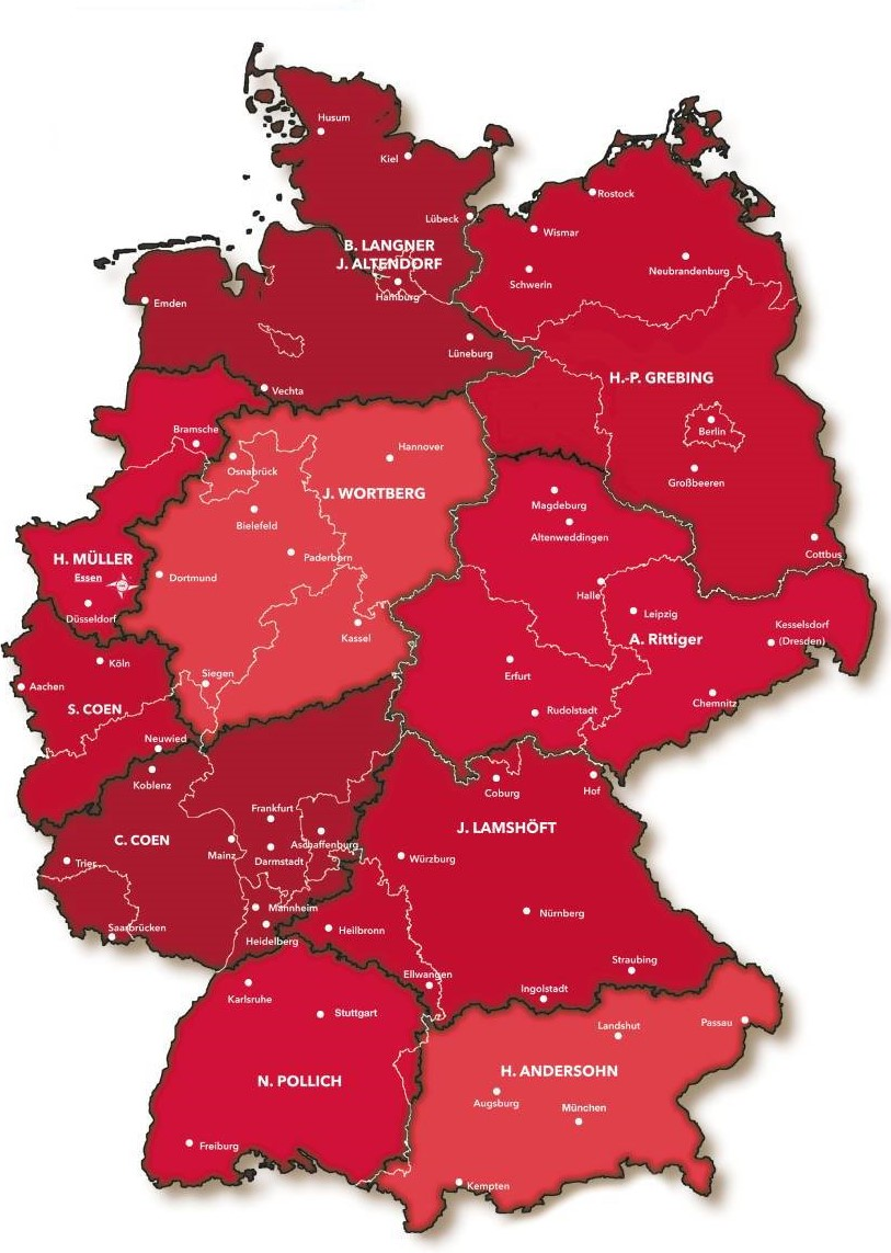 PAGEL Vertrieb Deutschland
