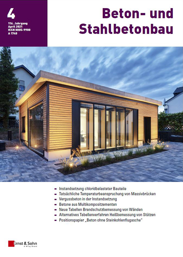 Beton- und Stahlbetonbau (116) 2021